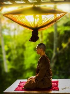 Meditation monk, mindfulness, compassion, spirituality, spiritual, self help