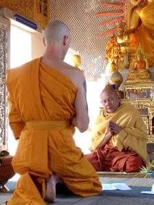 Buddhist monk, ordination, mindfulness, meditation, spirituality, spiritual, happiness, compassion, wellbeing