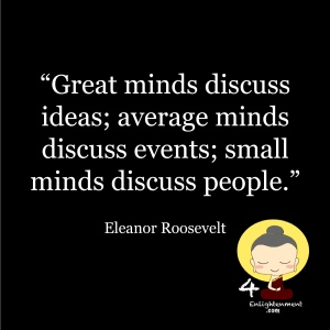 thought of the day, personal growth, mindset reset, motivational quotes, personal development through mindfulness, words of wisdom, commit to sit, positive thinking, inspirational advice, quotation, sayings to live by, Eleanor Roosevelt quotations,