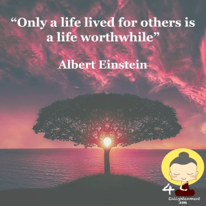spiritual quotes, thought of the day, mindful quotation, Words Of Wisdom, mindfulness sayings, personal development through mindfulness, philosophy, inspirational advice, Albert Einstein quotes, developing minds, spirituality, personal growth,