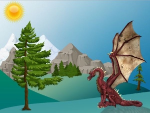 How to catch a baby dragon moral story,