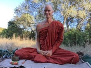 Meditate with a monk Dhamma Tāpasā,