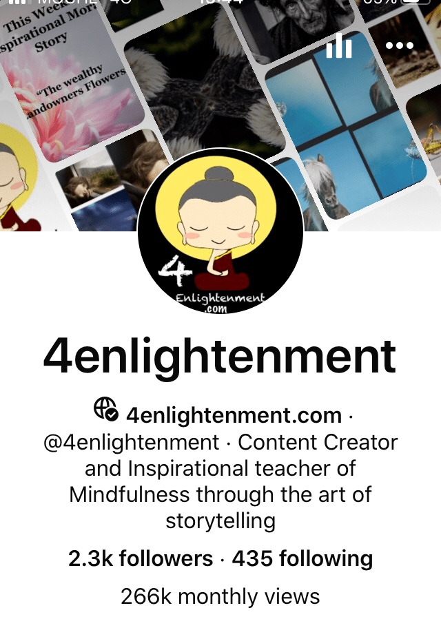 personal development through mindfulness, Dhamma Tapasa, 4enlightenment, changing thought patterns, 1/4 million unique monthly views, transforming your mind, former Buddhist monks vision, making kindness and compassion go viral, how do I fulfil my dreams, learn positivity,